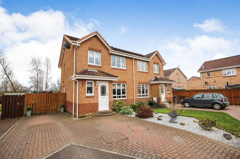 3 Bedrooms Semi Detached House for sale in Wardlaw Place, Carronshore, Falkirk