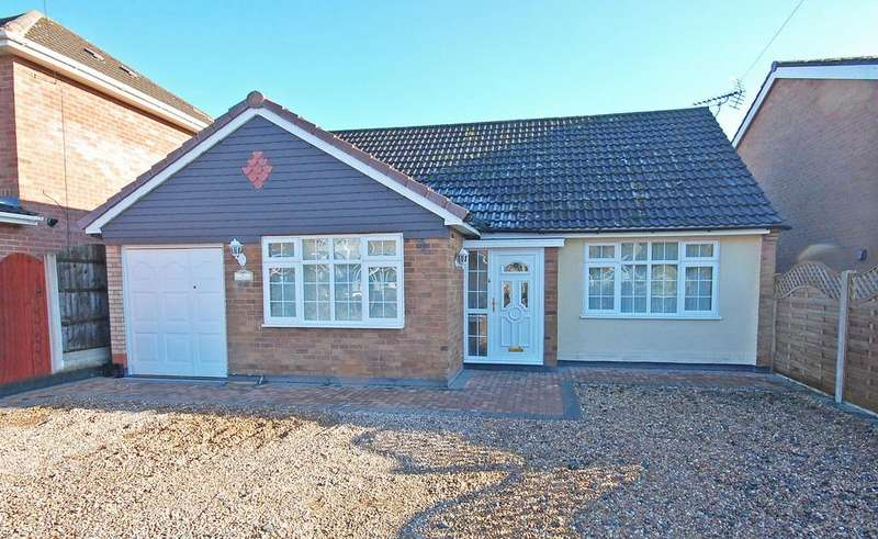 4 Bedrooms Detached Bungalow for sale in CHURCH ROAD, Codsall, Wolverhampton WV8