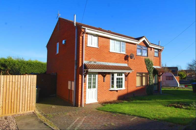 3 Bedrooms Semi Detached House for sale in Knights Link, Earl Shilton, Leicester, LE9