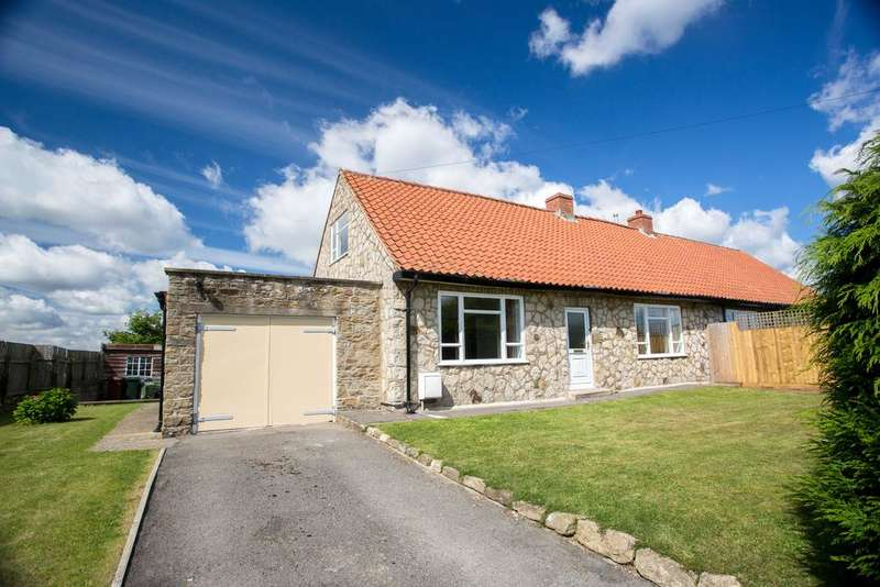 2 Bedrooms Semi Detached Bungalow for sale in Nawton Road, Wombleton YO62