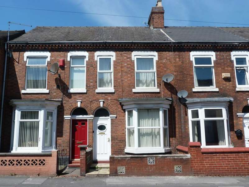2 Bedrooms Terraced House for sale in Ford Lane Crewe