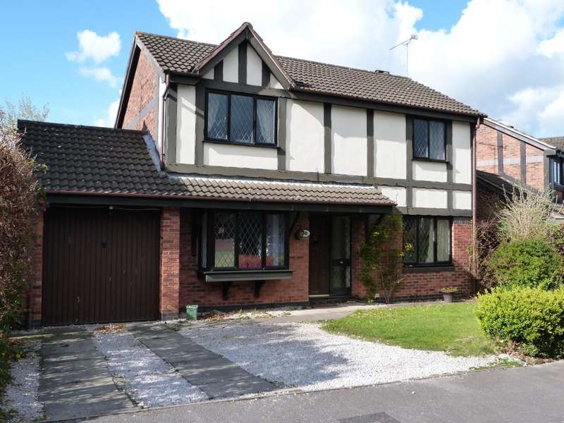 3 Bedrooms Detached House for sale in Oakhurst Drive Wistaston