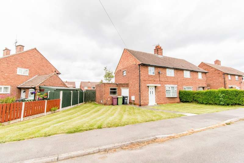 3 Bedrooms Semi Detached House for sale in Langwith Road, Bolsover