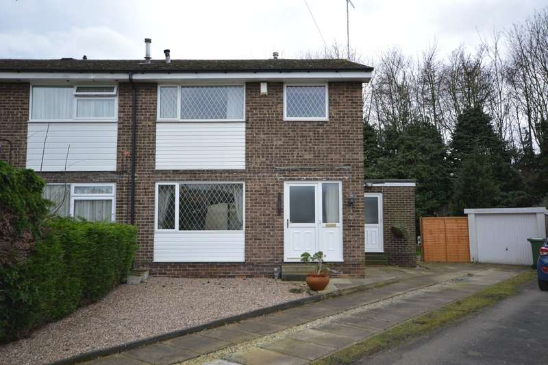 3 Bedrooms Semi Detached House for sale in Cleveland Garth, Lupset Park, Wakefield