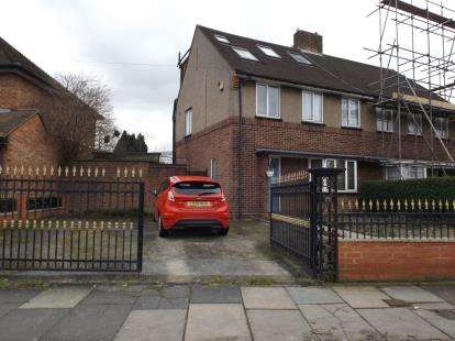 4 Bedrooms Semi Detached House for sale in Cuckoo Hall Lane, Edmonton, London