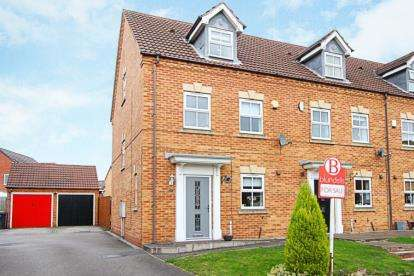 3 Bedrooms End Of Terrace House for sale in Green Close, Renishaw, Sheffield, Derbyshire