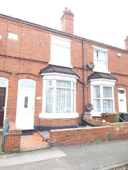 3 Bedrooms Terraced House for sale in Victoria Street, Willenhall, West Midlands