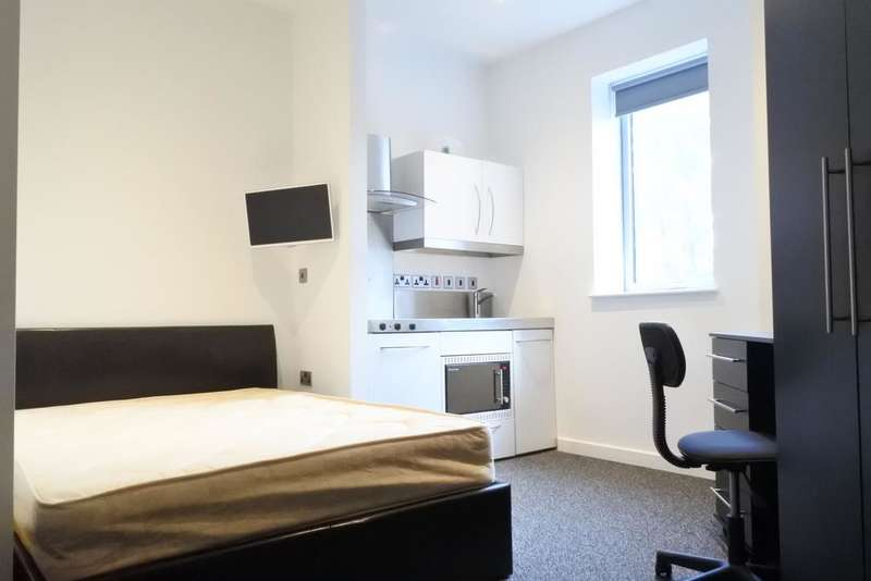Studio Flat for rent in St. Mary's House, London Road, Sheffield S2