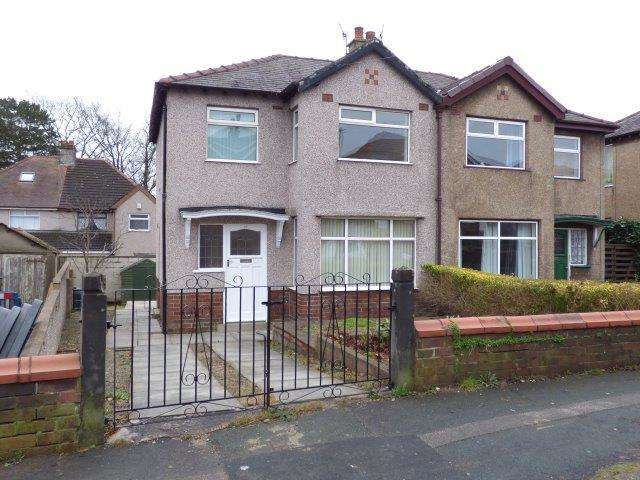 3 Bedrooms Semi Detached House for sale in Ashton Drive, Lancaster, Lancashire, LA1 2LQ