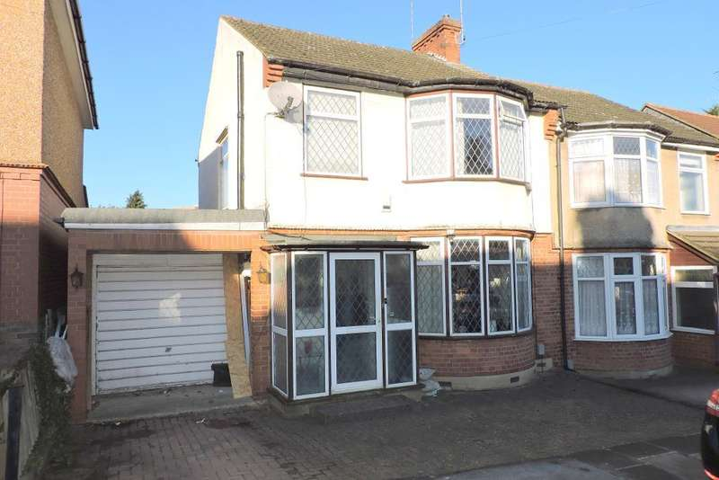 3 Bedrooms Semi Detached House for sale in Alton Road, Luton, Bedfordshire, LU1 3NS