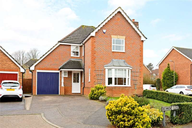 4 Bedrooms Detached House for sale in Richmond Close, Amersham, Buckinghamshire, HP6