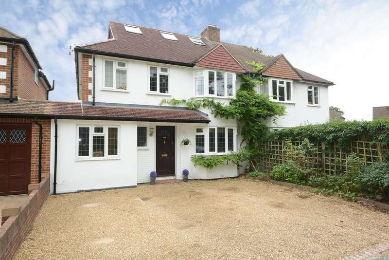 6 Bedrooms Semi Detached House for sale in Westcar Lane, Hersham, WALTON ON THAMES KT12