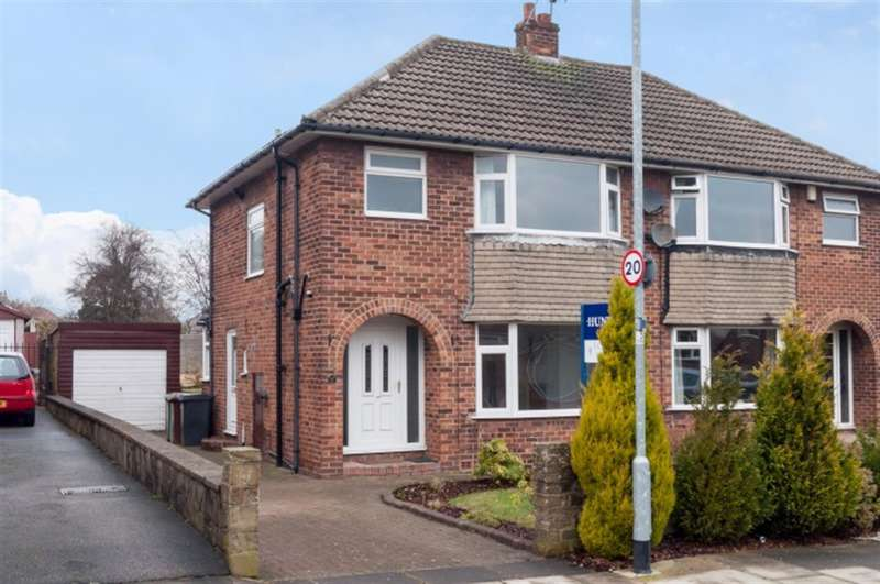 3 Bedrooms Semi Detached House for sale in The Fairway, Pudsey, LS28
