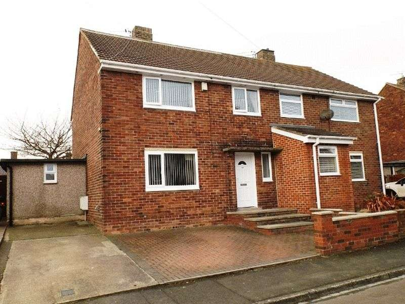 3 Bedrooms Semi Detached House for sale in East Acres, Widdrington - Three Bedroom Semi Detached House