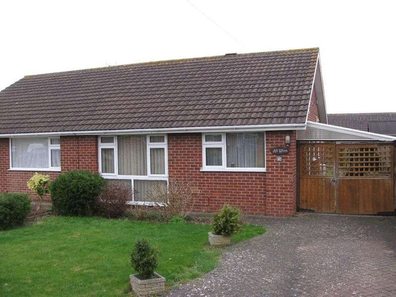 2 Bedrooms Semi Detached Bungalow for sale in Sandycroft Road, Gloucester