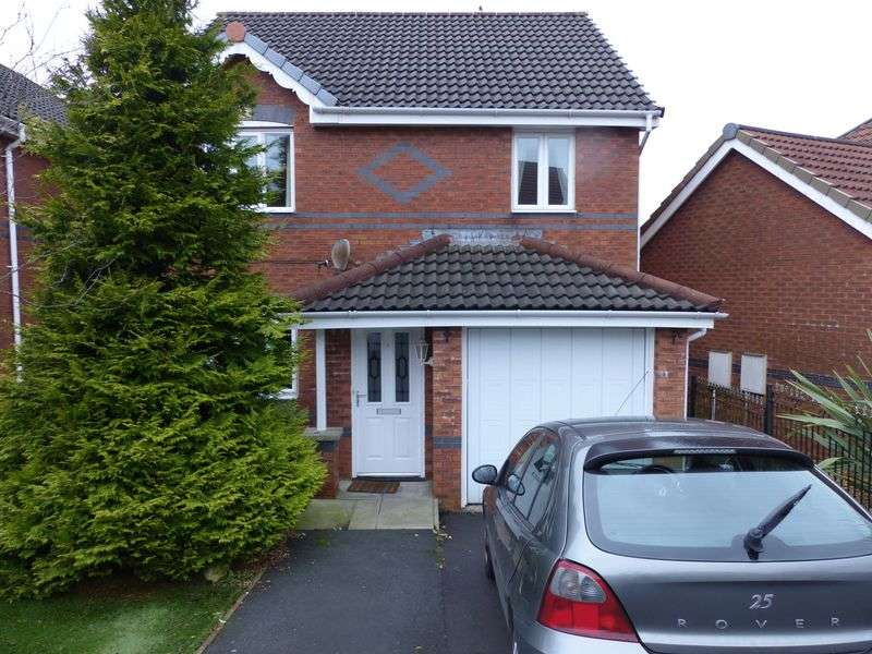 3 Bedrooms Detached House for sale in Oakley Drive, Moorside