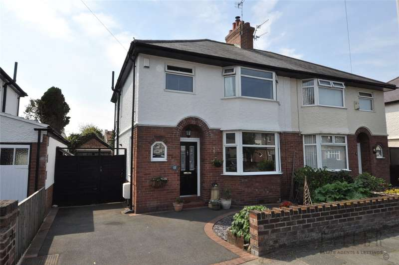 3 Bedrooms Semi Detached House for sale in Waverley Road, Hoylake, Wirral