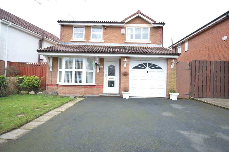 3 Bedrooms Detached House for sale in Willaston Drive, Halewood, Liverpool, L26