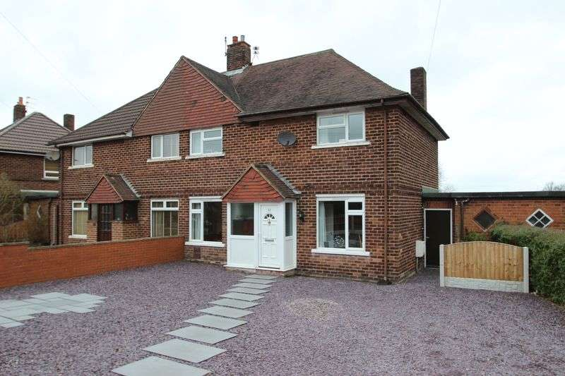 4 Bedrooms Semi Detached House for sale in Grove Avenue, Kidsgrove