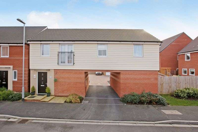2 Bedrooms Detached House for sale in Imperial Way, Kings Down, Bridgwater
