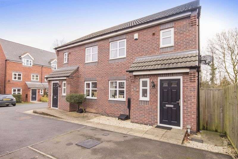 3 Bedrooms Semi Detached House for sale in GIRTON WAY, MICKLEOVER