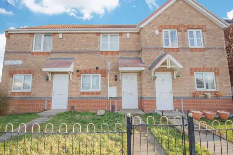 2 Bedrooms Terraced House for sale in St. Johns Row, Grangetown, Middlesbrough, TS6 7HL