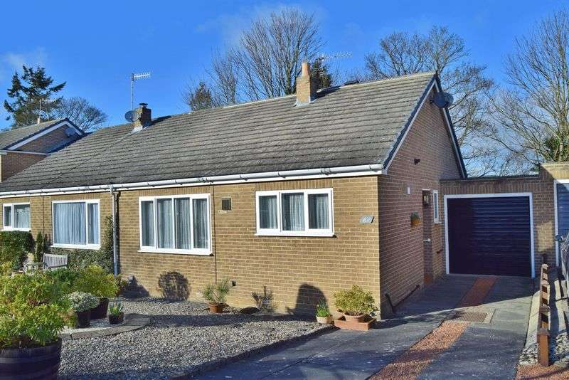 2 Bedrooms Semi Detached Bungalow for sale in Eastwood Grange Road, Hexham