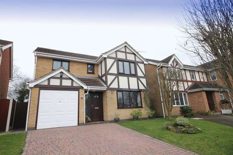 4 Bedrooms Detached House for sale in CHARLBURY CLOSE, LITTLEOVER