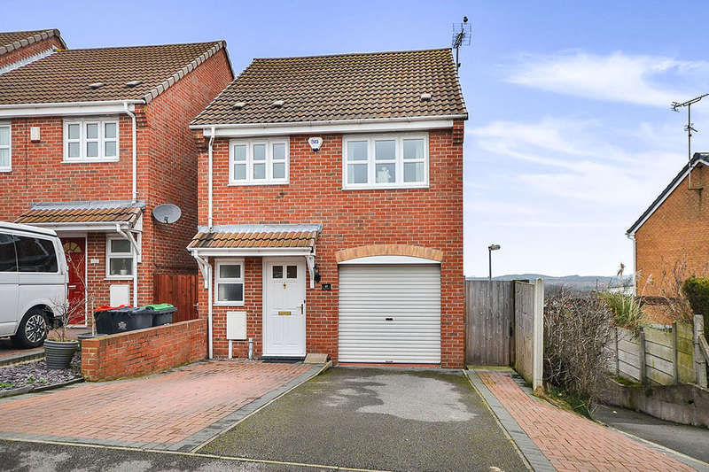 3 Bedrooms Detached House for sale in Derwent Drive, Kirkby-In-Ashfield, Nottingham, NG17