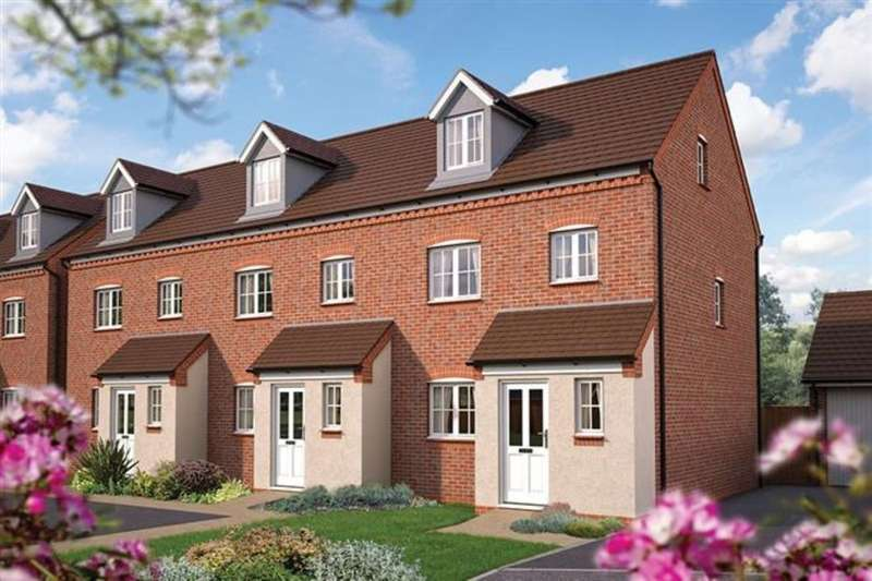 3 Bedrooms Property for sale in The Tetbury, Iddeshale Gardens, Off Haughton Road, Shifnal, TF11