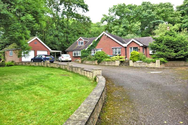 4 Bedrooms Detached Bungalow for sale in ECCLESHALL ROAD, CRESWELL, STAFFORD ST18