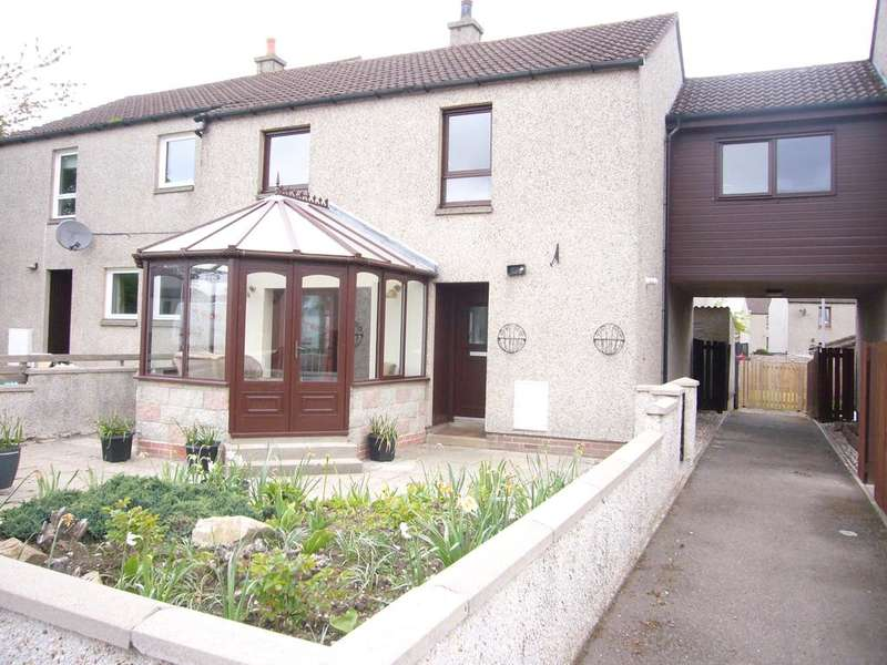 4 Bedrooms Terraced House for sale in 116 Nelson Terrace, Fife Keith, AB55 5FD