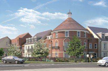 1 Bedroom Retirement Property for sale in Hawthorne Lodge, Longbridge, Farnham GU9