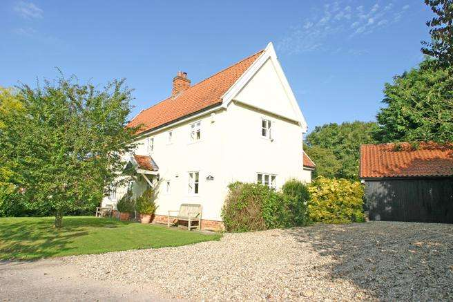 4 Bedrooms Detached House for sale in Wetheringsett