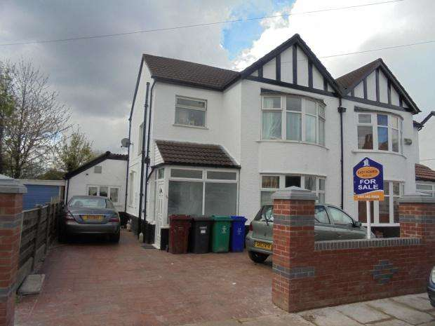 3 Bedrooms Semi Detached House for sale in Scarisbrick Road, Manchester, M19