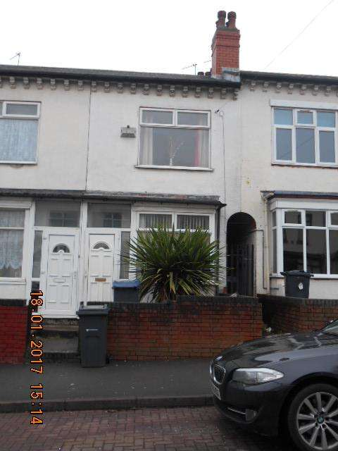 2 Bedrooms Terraced House for sale in Third Avenue, Bordesley Green, Birmingham B9 5RJ