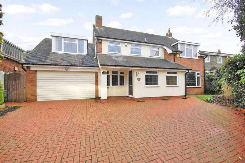 5 Bedrooms Detached House for sale in Old Western Road, Bishops Wood, Stafford ST19