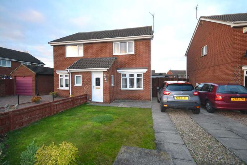 2 Bedrooms Semi Detached House for sale in Fulmerton Crescent, Redcar TS10