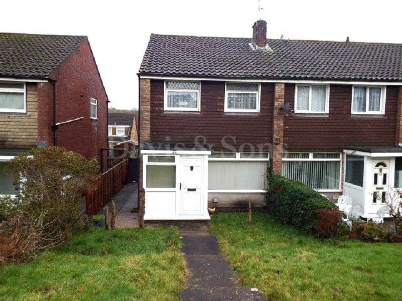 3 Bedrooms End Of Terrace House for sale in Pilton Vale, Malpas, Newport. NP20 6LQ