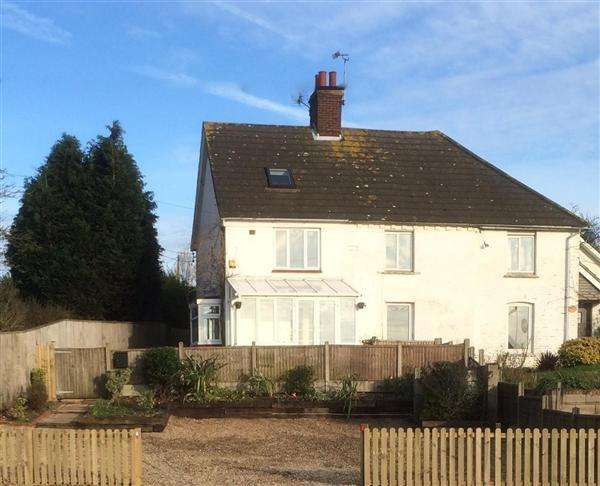 3 Bedrooms Semi Detached House for sale in Boundgate Cottages, Badlesmere Nr Faversham