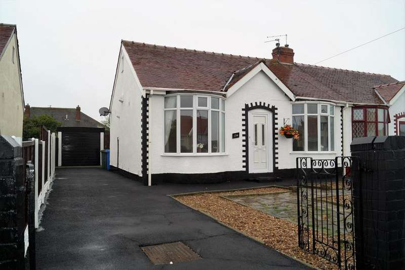 2 Bedrooms Semi Detached Bungalow for sale in Cumberland Avenue, Thornton-Cleveleys, Lancashire, Blackpool FY5