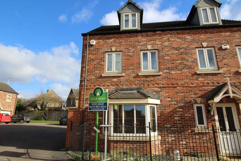 4 Bedrooms Semi Detached House for sale in Levertons Place, Hucknall, Nottingham, NG15
