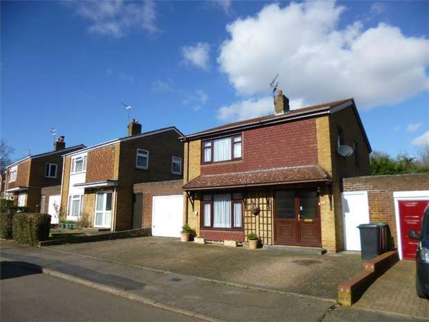 3 Bedrooms Detached House for sale in Apollo Way, Highfield, HEMEL HEMPSTEAD, Hertfordshire