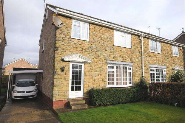 4 Bedrooms Semi Detached House for sale in Long Lane, Seamer, Scarborough, North Yorkshire YO12 4RR