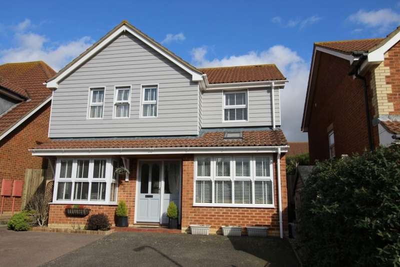 4 Bedrooms Detached House for sale in Cherwell Close, Stone Cross, Pevensey, BN24