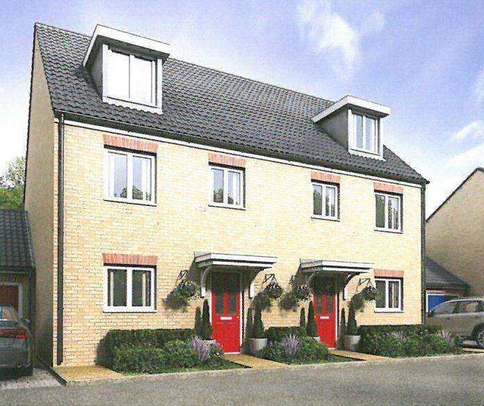 4 Bedrooms Town House for sale in NEW HOUSE PLOT 23, HAMILTON GATE, FRINTON ON SEA