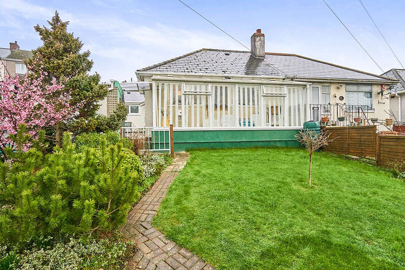 1 Bedroom Semi Detached Bungalow for sale in Laira Park Road, Plymouth, PL4