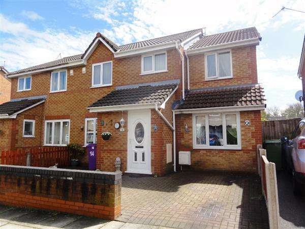 5 Bedrooms Semi Detached House for sale in Fordcombe Road, Gateacre, Liverpool
