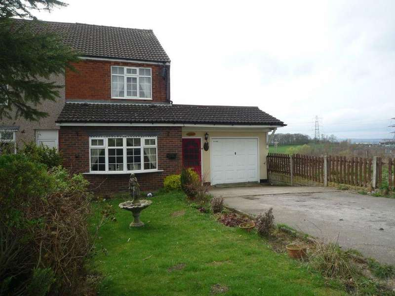 3 Bedrooms Semi Detached House for sale in Calow Green, Chesterfield, Derbyshire, S44 5XQ