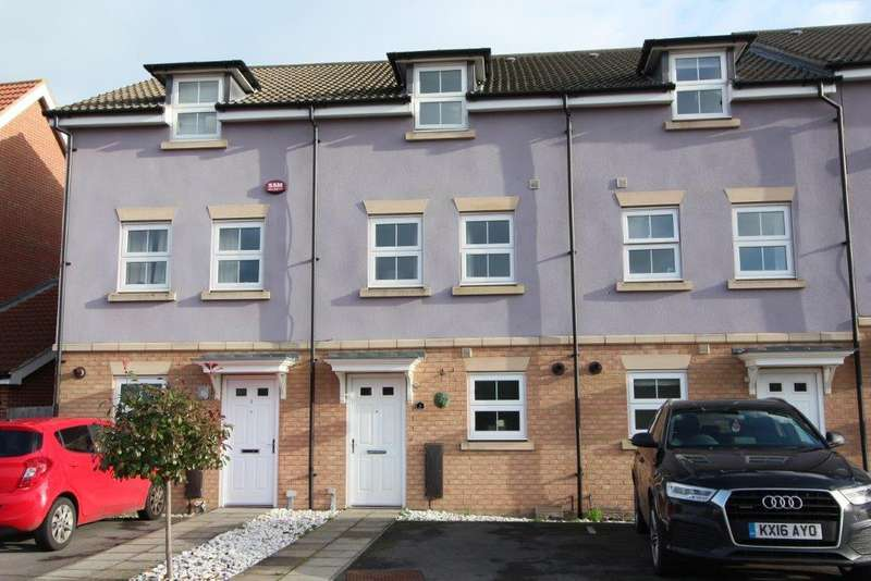 3 Bedrooms Town House for sale in Lebburn Meadows, Hedge End SO30
